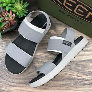 NIB Keen Elle Backstrap Platform Comfort Sandal